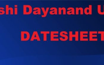 mdu b tech datesheet