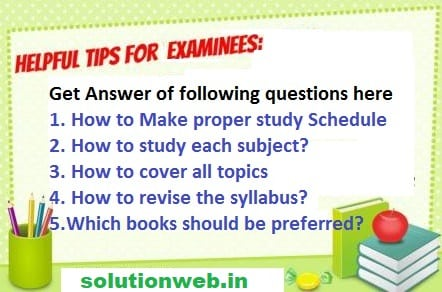 Teacher Tips Board Exams Date Sheet 2018