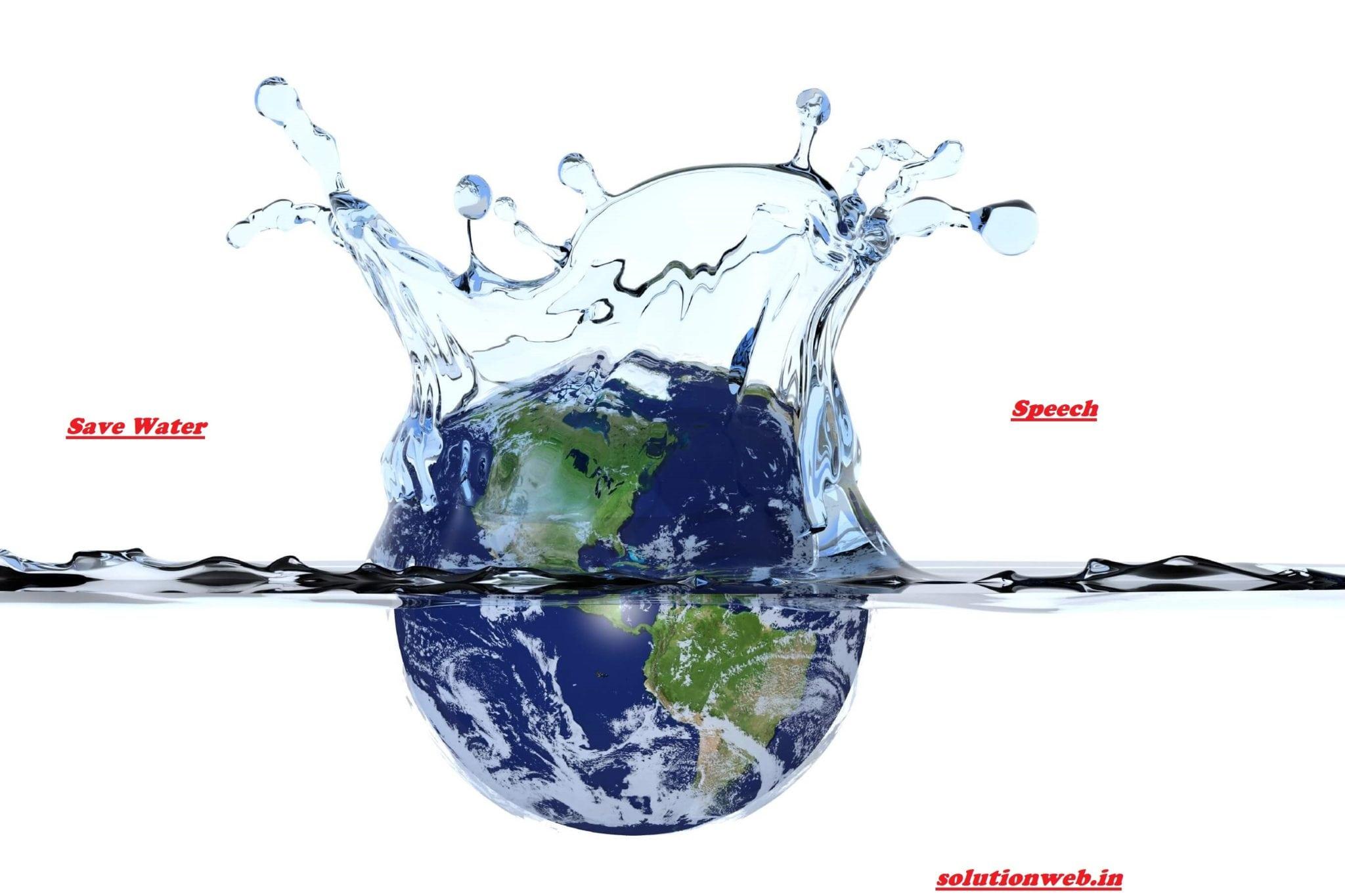 WATER DAY SPEECH