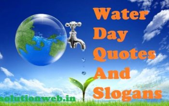 water day quotes slogans