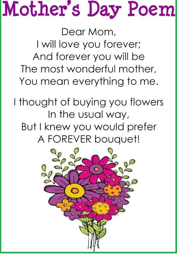 Happy Mother's Day Poem