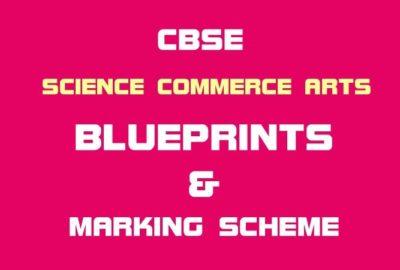 CBSE Class 12th Blueprint Arts Stream