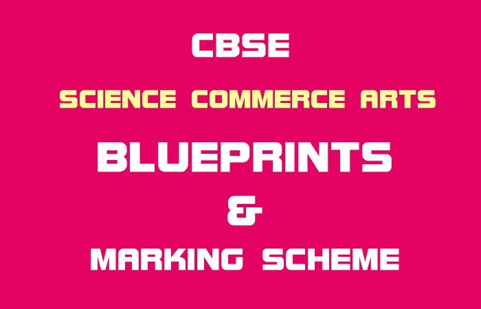 CBSE Class 12th Blueprint Arts Stream