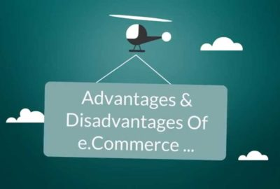 advantages and disadvantages of e-commerce