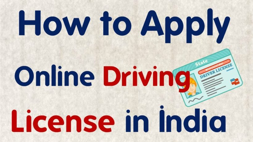 Driving Licence Online Apply : Parivahan gov in Learning Licence