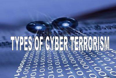 types of cyber terrorism