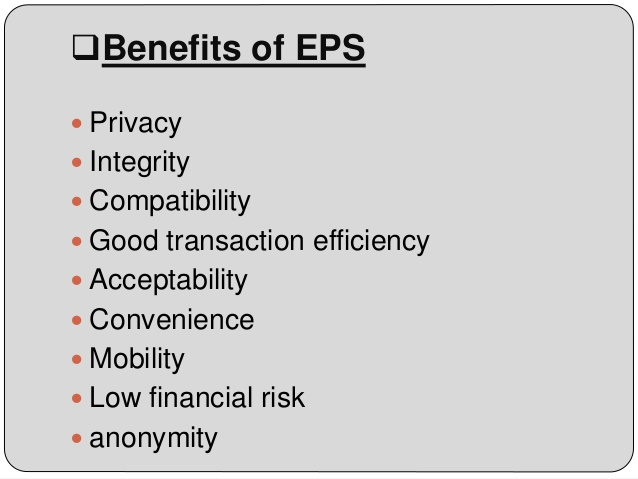 Benefits of Electronic Payment System