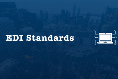 EDI standards implemented