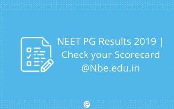 neet result 2019