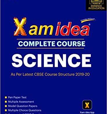 Xam Idea Complete Course Science for CBSE Class 10