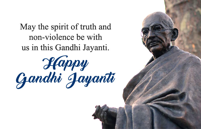 Gandhi Jayanti 2019 Wishes