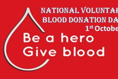 National Voluntary Blood Donation